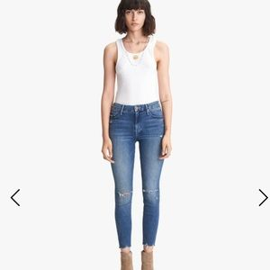 MOTHER The Looker Hight Waist Skinny Jeans